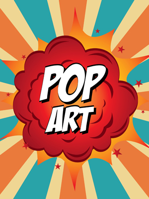 Fototapete Pop Art